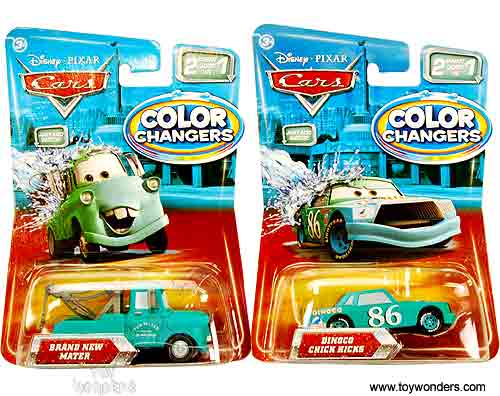 Color Changers Cars Ramone Playset Cars