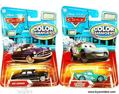 Cars Color Changers: Cars Color Changers Toy Diecast Cars Assortment B By
