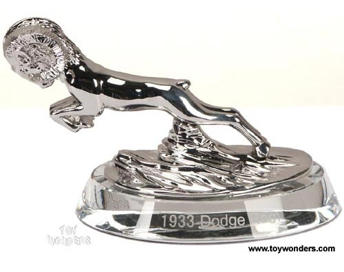 signature models dodge ram hood ornament 1933 silver 18026h. Cars Review. Best American Auto & Cars Review