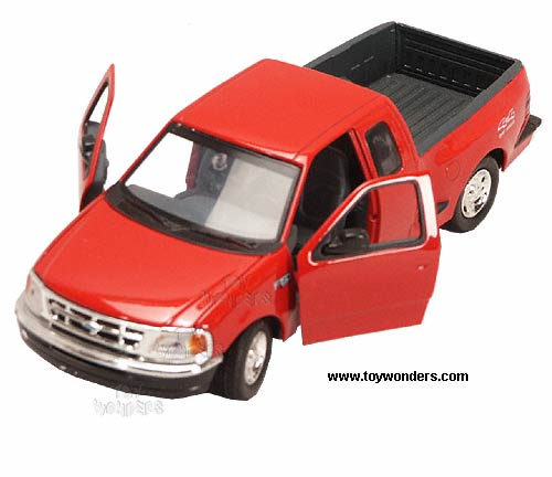 2001 ford f150 flareside by showcasts 1 24 scale diecast model car wholesale 73284d. Black Bedroom Furniture Sets. Home Design Ideas
